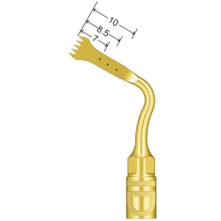 Insert US2 pour Chirurgie compatible Mectron